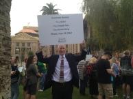 SB 1062 protest in Phoenix, AZ.