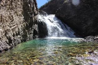 Waterfall on Schofield Pass, CO
