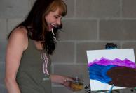 Puff, Pass & Paint class in Denver, CO