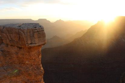 Grand Canyon at sunrise, AZ.