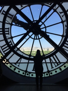 Musee D'Orsay in Paris, France.