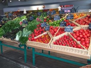 Vegetables in Paris, France.